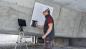 Proceq GPR Live в процессе контроля арматурной сетки