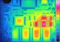 Testo тепловизоры – термограмма печатной платы
