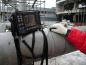 Ультразвуковой дефектоскоп А1214 EXPERT в работе