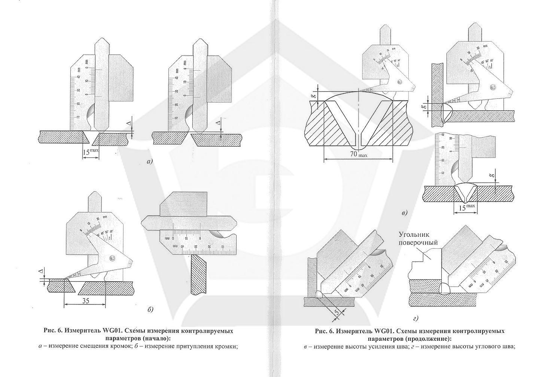 65 порядок выполнения визуального и измерительного контроля сварных соединений (наплавок)